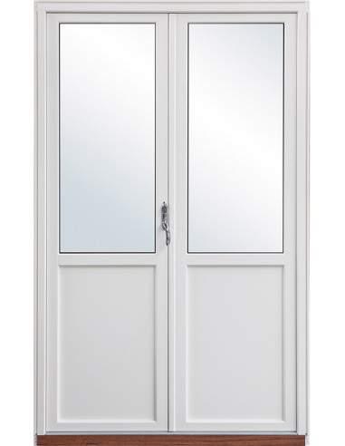 Utåtgående Parfönsterdörr TräAluminium