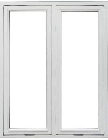 Utåtgående Sidohängt 2-Luft Träfönster