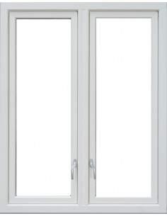 Utåtgående Sidohängt 2-Luft Trä/Aluminium Fönster